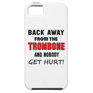 Back away from the Trombone and nobody get hurt! iPhone 5 Cover