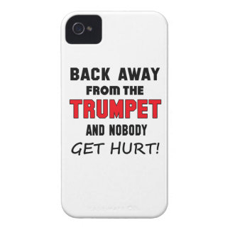 Back away from the Trumpet and nobody get hurt! iPhone 4 Case