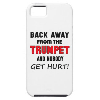 Back away from the Trumpet and nobody get hurt! iPhone 5 Case