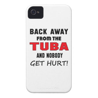 Back away from the Tuba and nobody get hurt! iPhone 4 Covers