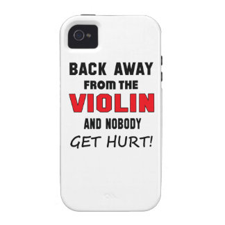 Back away from the Violin and nobody get hurt! Vibe iPhone 4 Covers
