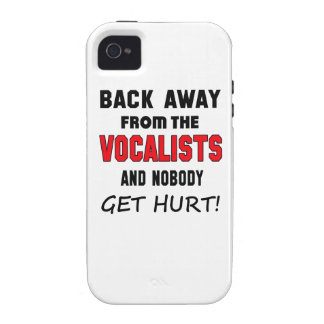 Back away from the Vocalists and nobody get hurt! Case For The iPhone 4