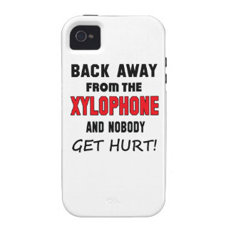Back away from the Xylophone and nobody get hurt! Vibe iPhone 4 Covers