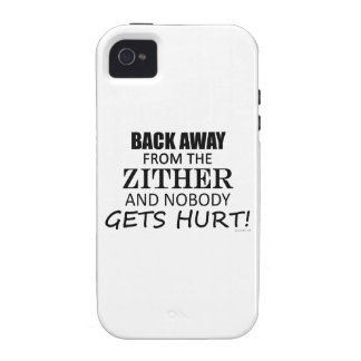 Back Away From The Zither iPhone 4/4S Covers