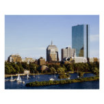 Back Bay Skyline from the Charles River, Boston Poster