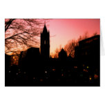 Back Bay Sunset Greeting Cards