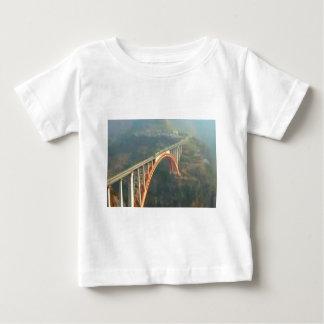 Back Design - Bridges, Forest n Green Layers Infant T-Shirt