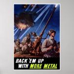 Back 'Em Up With More Metal -- Border