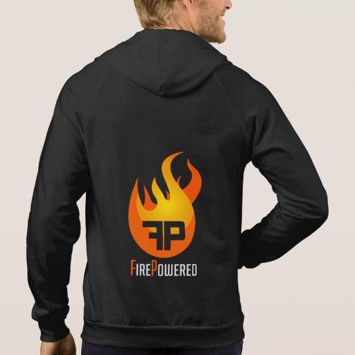 Back FirePowered Logo Sweatshirts