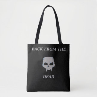 Back from the Dead toto bag