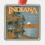 Back Home Again In Indiana Christmas Ornament