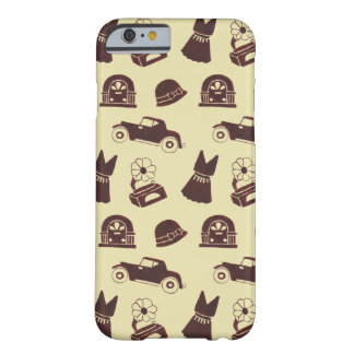 Back in the 20's Pattern Barely There iPhone 6 Case