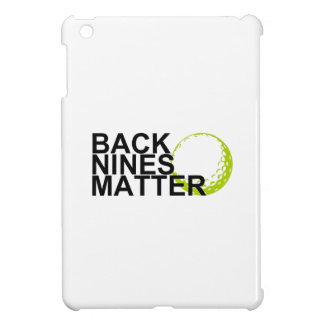 back nines matter iPad mini cover