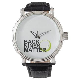 back nines matter watch