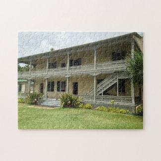 Back of Hulihe'e Palace, Kailua-Kona, Hawaii Jigsaw Puzzle