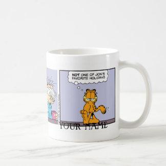 """Back of the Head"" Garfield Comic Strip Mug"