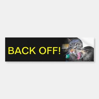 Back off bumper stickers
