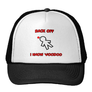Back Off I Know Voodoo Doll Magic Spell Haitian Cap