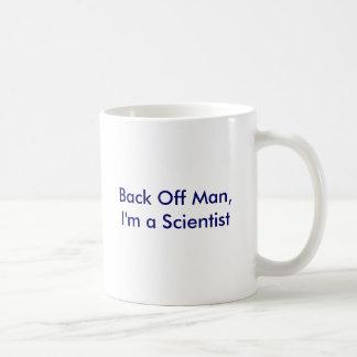 Back Off Man, I'm a Scientist Basic White Mug