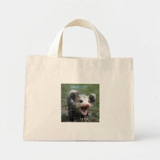 Back Off Mini Tote Bag