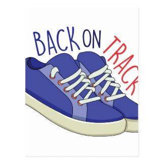 Back On Track Postcard