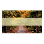 Back Road Fall Wedding Place Cards Pack Of Standard Business Cards