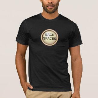 Back Spacer — Type Keys T-Shirt