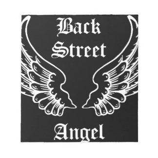 Back Street Angel Accessories Notepad