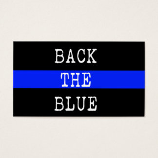 Back the Blue Promise Cards