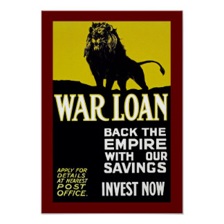 Back the Empire with Our Savings Poster