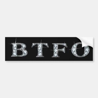 Back The F* Off Bumper Sticker