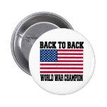 Back to Back World War Champion Badges