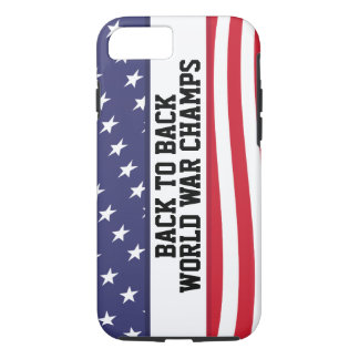 Back to Back World War Champions iPhone 7 case