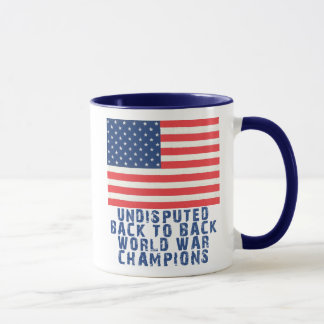 Back to Back World War Champions Mug