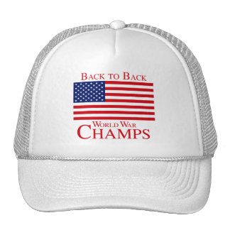 BACK TO BACK WORLD WAR CHAMPIONS png Mesh Hat