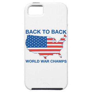 Back to Back World War Champs iPhone Case