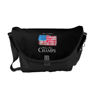 Back to Back World War Champs -.png Courier Bags