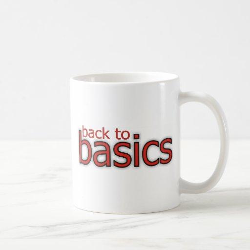 Back to basics! mugs