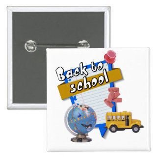Back to School Buttons