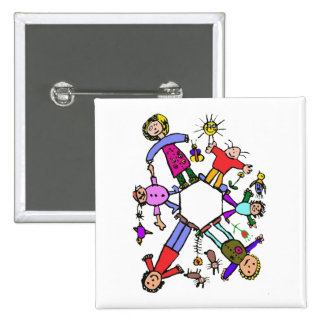 Back to school - pinback button