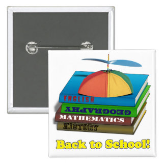 Back to School Book Stack Pins