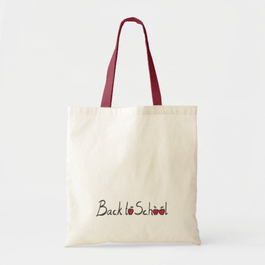Back to School, book tote bag