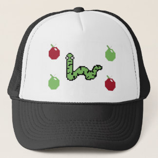 Back to school book worm trucker hat