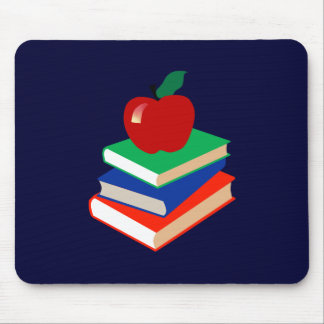 Back to School, Books and Apple Mouse Mat