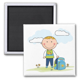 Back to school Boy Magnet