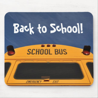 Back to School Bus Mouse Mat