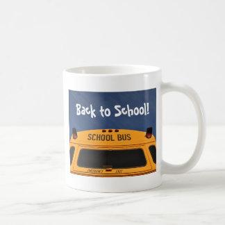 Back to School Bus Coffee Mug