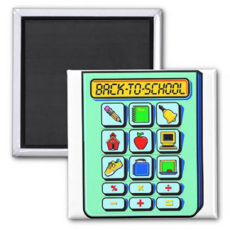 Back To School Calculator Magnet