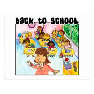 Back to School Classroom Postcard