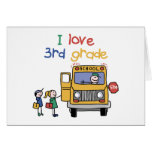 Back To School Clothes Greeting Card